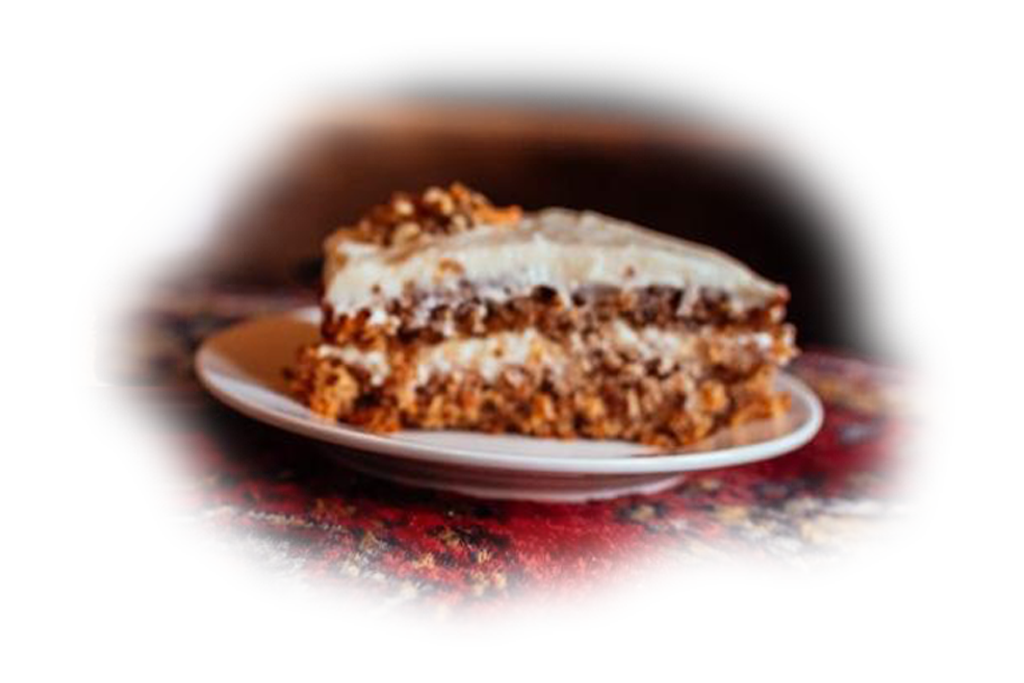 Wortelnotentaart - Carrot & Nut Pie